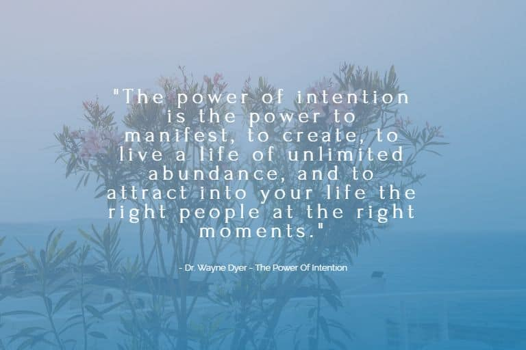 Law of Attraction Techniques: Power of Intention